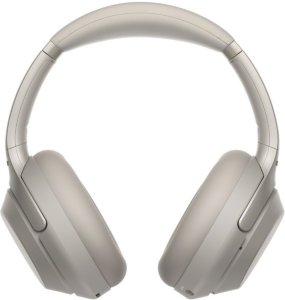 Sony WH 1000XM3 trådløse hodetelefoner med mikrofon Sølv