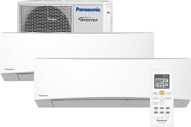 Panasonic CS-TZ25TKEW/CU-2Z41TBE Multisplit 2 innedeler