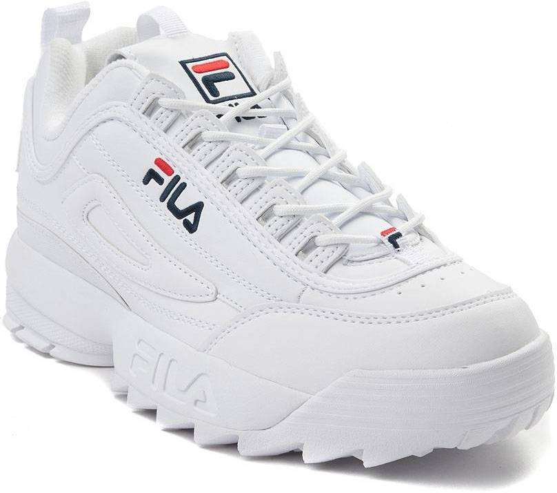 FILA Sko Disruptor Low White