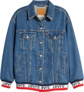 Levi's Baggy Sport Tape Trucker