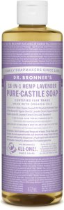 Dr.Bronner's Pure-Castile Liquid Soap Lavender 472 ml
