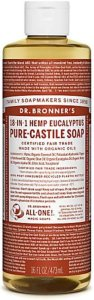 Dr.Bronner's Pure-Castile Liquid Soap Eucalyptus 472 ml