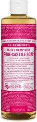 Dr.Bronner's Pure-Castile Liquid Soap Rose 472 ml