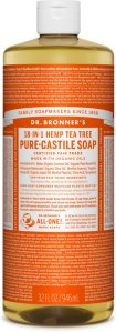 Dr.Bronner's Pure-Castile Liquid Soap Tea Tree 472 ml