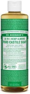 Dr.Bronner's Pure-Castile Liquid Soap Almond  472 ml