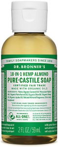 Dr.Bronner's Pure-Castile Liquid Soap Almond 59 ml