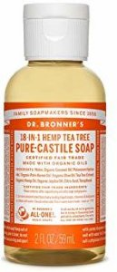 Dr.Bronner's Pure-Castile Liquid Soap Tea Tree 59 ml