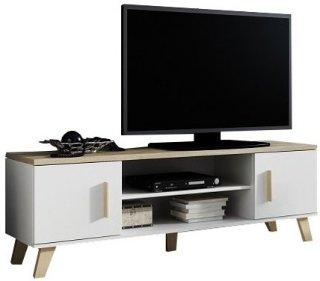 Selly Home Lotta sonoma/hvit 160 cm