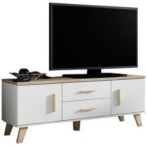Selly Home Lotta sonoma/hvit 140 cm
