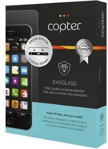 Exoglass iPhone XS Curved Skjermbeskyttelse