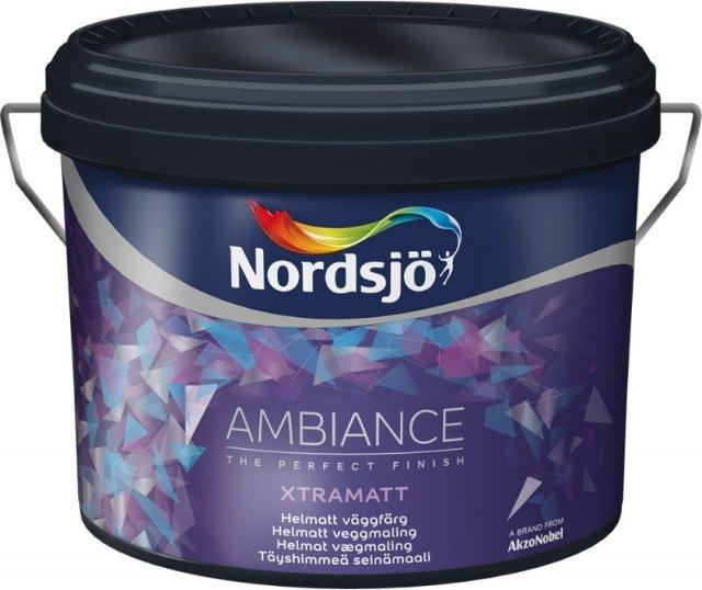 Nordsjö Ambiance Xtramatt (9 liter)