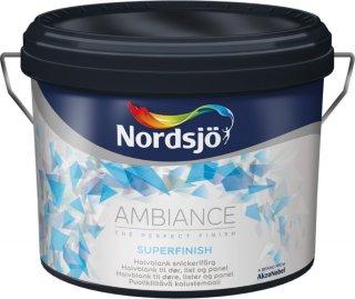 Nordsjö Ambiance Superfinish Halvblank 1 L