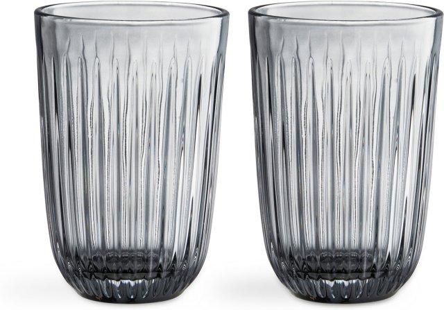 Kähler Hammershøi glass 40cl 2stk