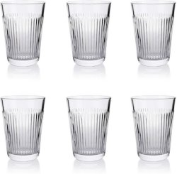 Aida Raw Relief glass 37cl 6 stk
