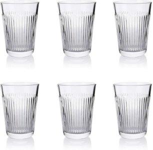 Aida Raw Relief glass 37cl 6 stk