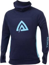 Aclima WarmWool Hood Sweater (barn)
