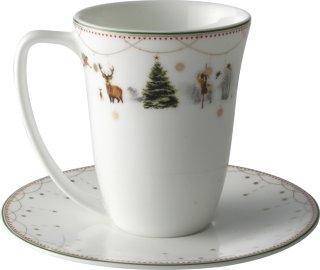 Julemorgen kopp med skål 20cl
