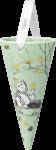 Bjørn Wiinblad Jul Kremmerhus grønn 12,5cm