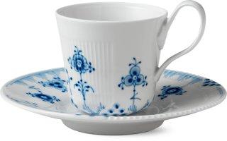 Royal Copenhagen Blue Elements kopp med skål 25cl