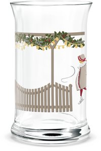 Christmas vannglass 2018