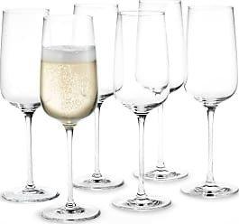 Holmegaard Bouquet champagneglass 29cl 6 stk