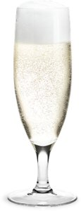 Holmegaard Royal champagneglass 25cl 6 stk