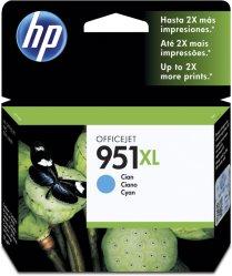 HP 951XL Blekk Cyan