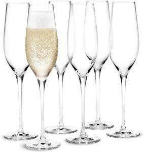 Holmegaard Cabernet champagneglass 29cl 6 stk