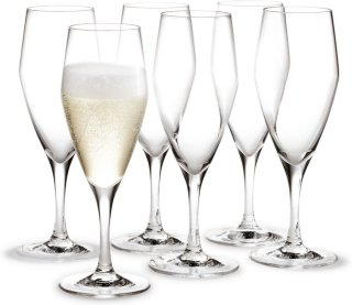 Holmegaard Perfection champagneglass 23 cl 6 stk