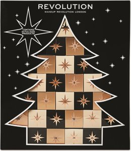 Makeup Revolution Christmas Tree adventskalender 2018