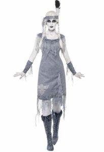 Spøkelse Indianer Kostyme