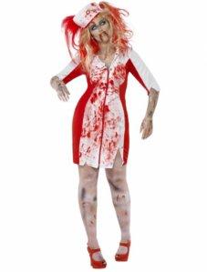 Zombie Sykepleier Kostyme Plus Size