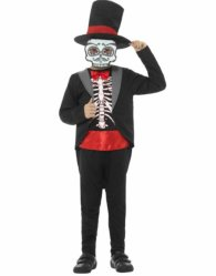 Day of the Dead Kostyme Jente