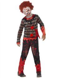 Deluxe Zombie Klovn Kostyme