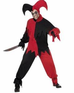 Halloween Joker Kostyme