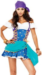 Gypsy Halloween Kostyme