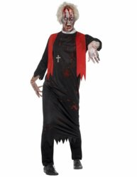 Zombie Halloween Prest Kostyme