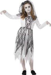 Spøkelsesbrud Halloween Kostyme