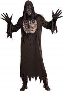 Sort Demon Kostyme med maske
