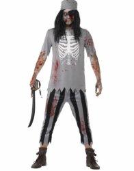 Zombie Pirat Kostyme