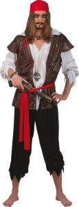 Karibisk Pirat Kostyme