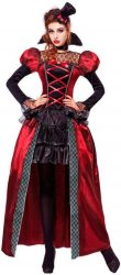 Viktoriansk Vampyr Herskerinne Kostyme