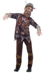 Zombie Viking Kostyme
