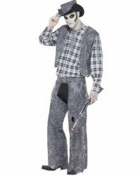 Spøkelse Cowboy Kostyme