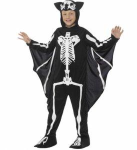 Flaggermus Skjelett Kostyme