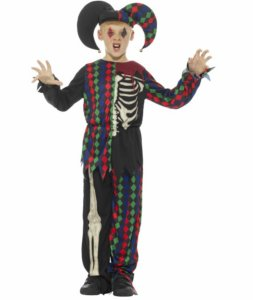 Skjelett Joker Kostyme