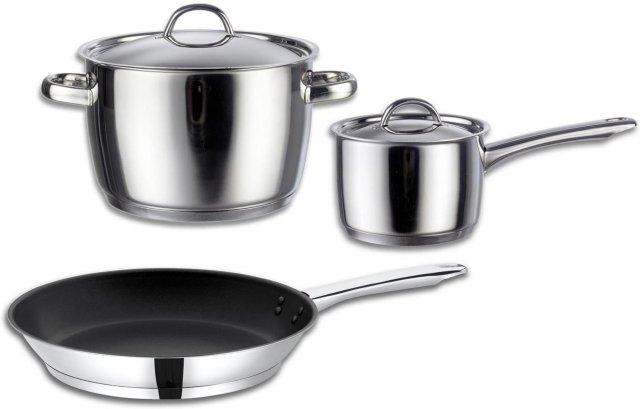 Fiskars Classic gryte, kasserolle og stekepanne