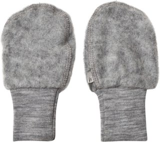 Wheat Felted Wool Mittens