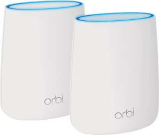 Netgear Orbi RBK20 AC2200 tri-band WiFi 2pk