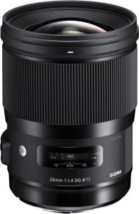 Sigma 28mm f/1.4 DG HSM Art for Sony